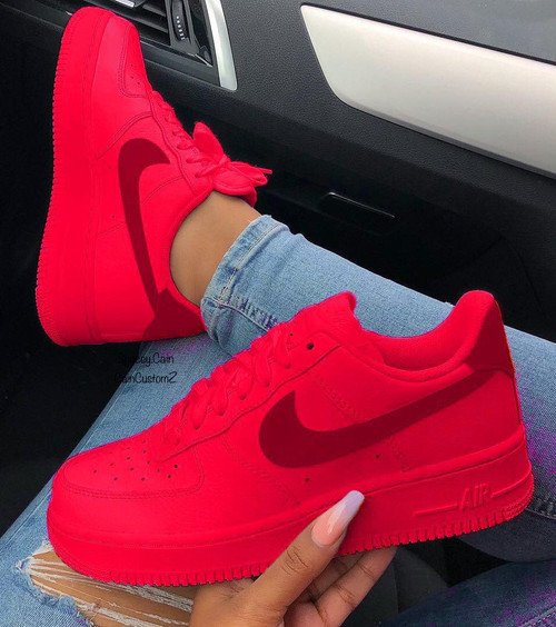 Matte Red Airforces ❤️