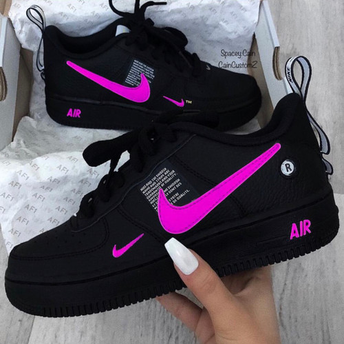 Hot Pink Utility Air Forces