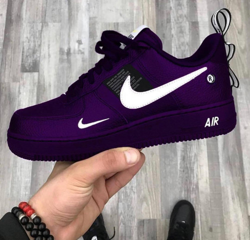Purple Utility Airforces ( Gs And Men Sizes )