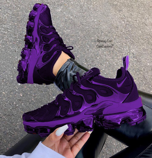 Purple Chrome Vapor Max Plus GS AND MEN SIZE