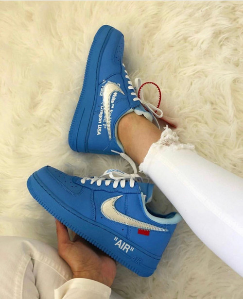UNC MCA Off AirForce 1s (MEN SIZE) ( No Size 14 or 15 )
