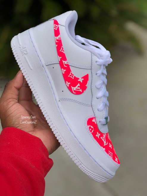 Tahaitian Pink LV Airforces
