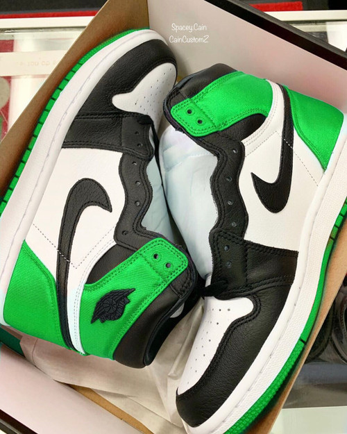Slime Satin 1s ( GS AND MEN SIZES ) only 7 pair made