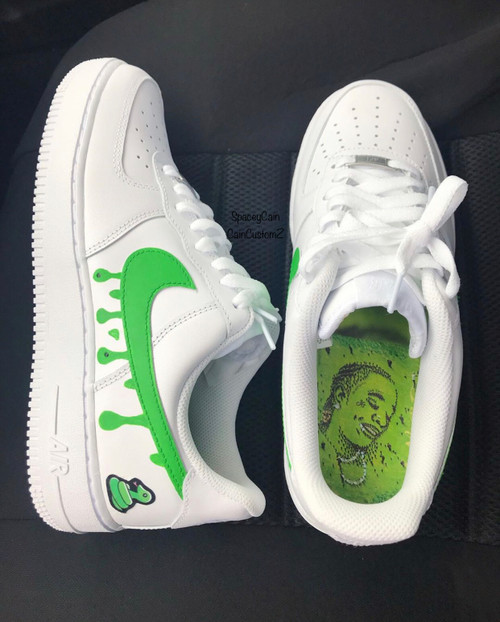Young Thug Airforces ( GS AND MEN SIZES )