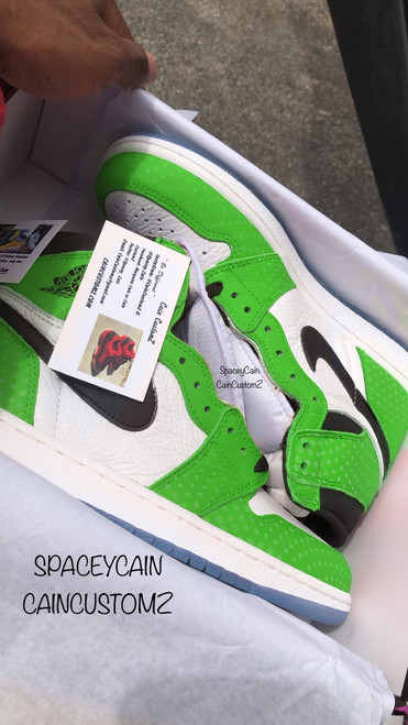 Slime Air Jordan Retro 1