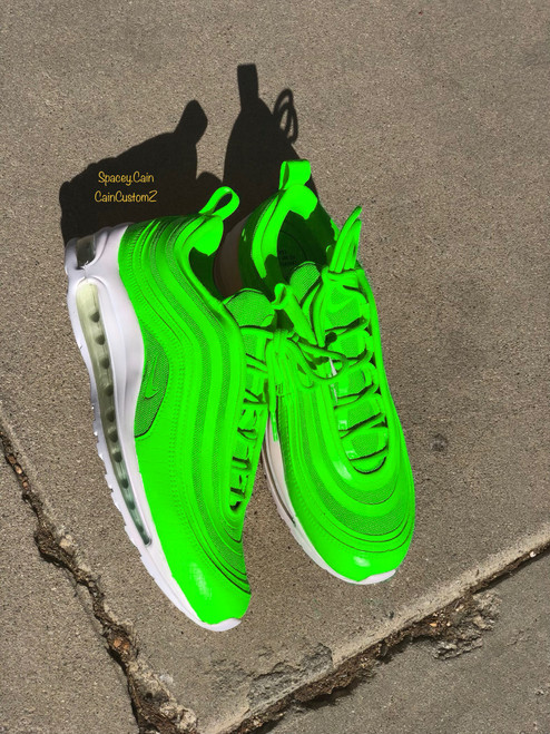Slime Air Max 97s ( GS AND MEN SIZES )