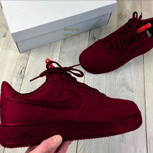 Cherry airforces ( gs and men sizes )