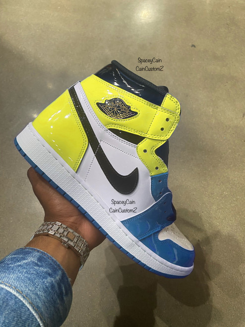 Blue Raspberry fearless 1s ( Gs and men sizes )