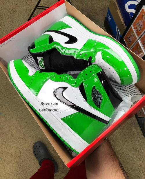 Slime patent 1s ( Big Kids & Men sizing )