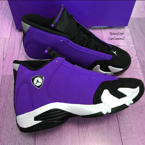 Purple Rain 14s ( GS & Men Sizes )