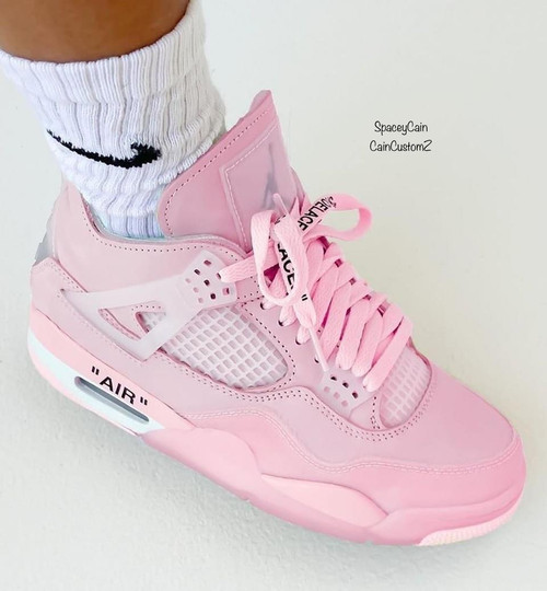 Off white Pink Sail 4 (Women Sizing)