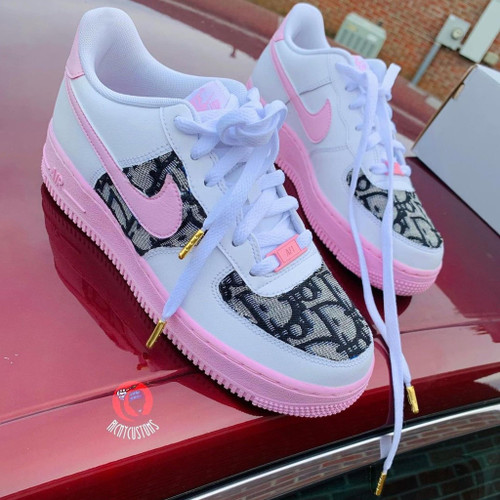 Pink Dior Airforces