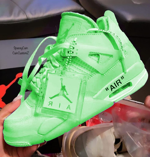Slime Off white 4s Women Sizing