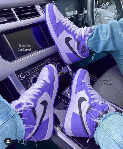 Purple University 1s ( GS AND MEN SIZES )