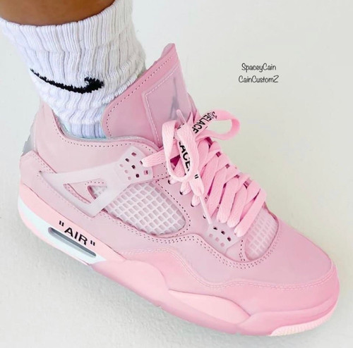 Somewhere in off white pink 4s ( women sizes )