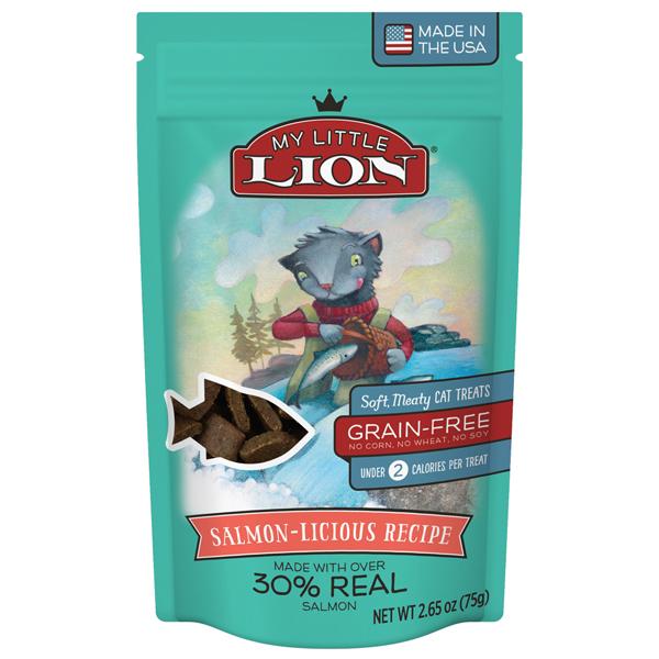 My Little Lion Salmon Cat Treat