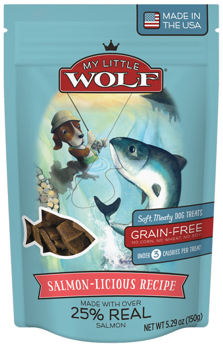 My Little Wolf Salmon Dog Treats