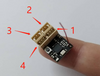 DasMikro DSK-117 FUTABA S-FHSS Compatible Micro 4 Channel Surface Receiver