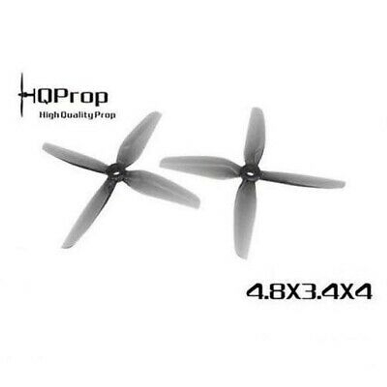 HQ Durable Prop  4.8X3.4X4 Grey (2CW+2CCW)-Poly Carbonate