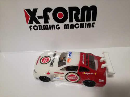 X-Form Body DTM in Lexan Transparent X-FORM 1/28 ( Unpainted) for Mini-Z Atomic GL Racing WL Toys