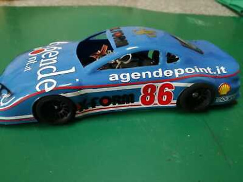 X-Form Body in Lexan Transparent 1/28 Nascar Style for Mini-Z Atomic GL Racing WL Toys