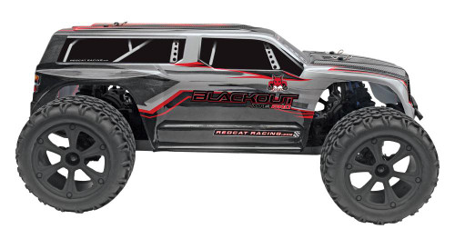Redcat Blackout XTE PRO 1/10 Scale Brushless Electric Monster Truck SUV Silver