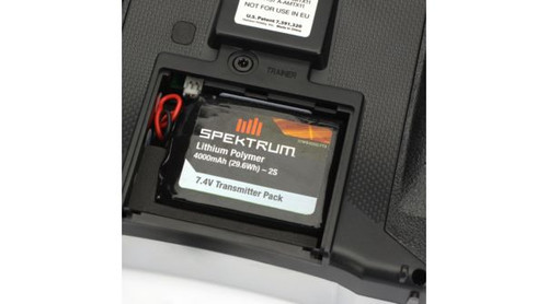Spektrum 4000mAh LiPo Transmitter Battery Compatible with DX8, DX9 Transmitters