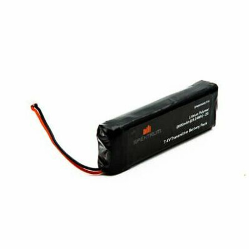 2600 mAh LiPo Transmitter Battery: DX18