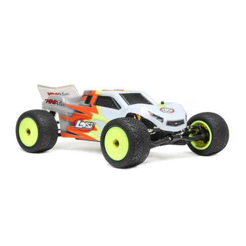 Losi Mini-T 2.0 RTR  Gray and White 1/18 Scale 2wd Stadium Truck