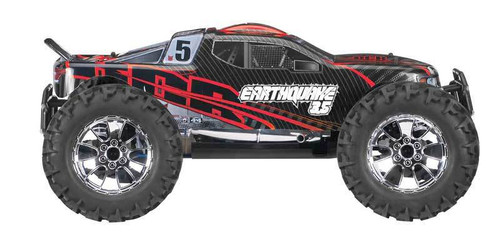 Redcat Earthquake 3.5 1/8 Scale Nitro RC Monster Truck Red and Black