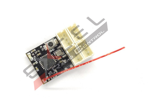 Excel RC DasMikro AFHDS3 Micro 4CH Receiver for FLYSKY Noble NB4 DSK-148 V2