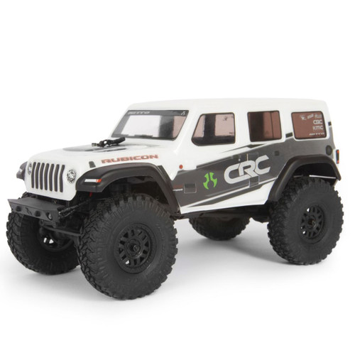 Axial 1/24 SCX24 2019 Jeep Wrangler JLU CRC 4WD Rock Crawler Brushed RTR White