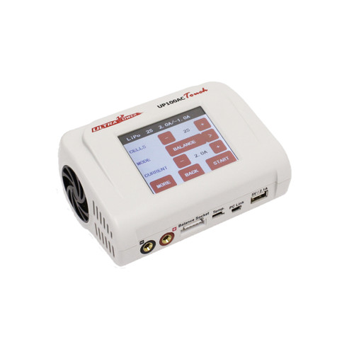 Ultra Power UP100AC Touch 100W Multi- Chemistry AC/DC Charger