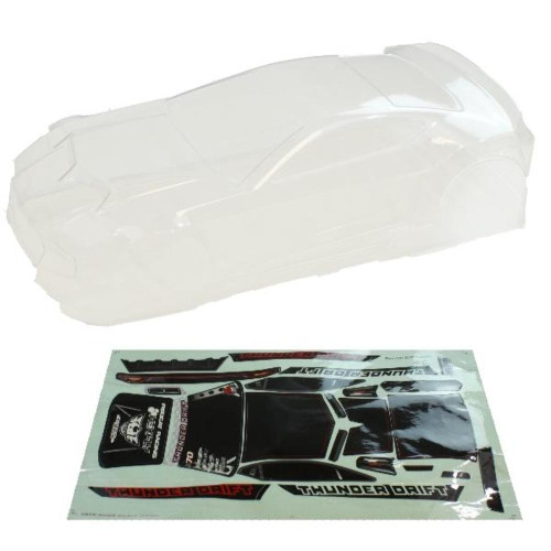 RedCat Clear Body including Stickers and Accessory Parts