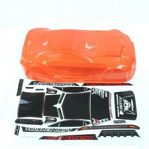 RedCat Orange Body including Stickers and Accessory Parts