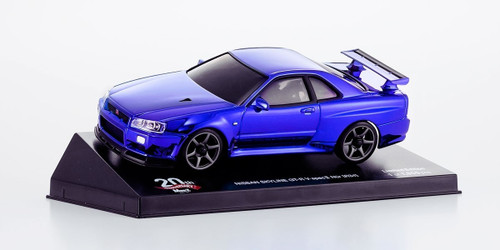 Kyosho MZP427CBL Skyline R34 Chrome Blue 20th Anniversary