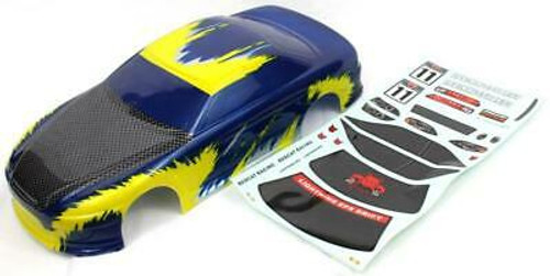 RedCat 1/10 200mm Onroad Car Body Blue and Yellow