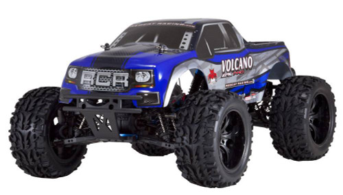 Redcat Racing Volcano EPX 1/10 Electric Monster Truck Blue No Battery or Charger