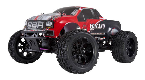 Redcat Racing Volcano EPX 1/10 Electric Monster Truck Red No Battery or Charger