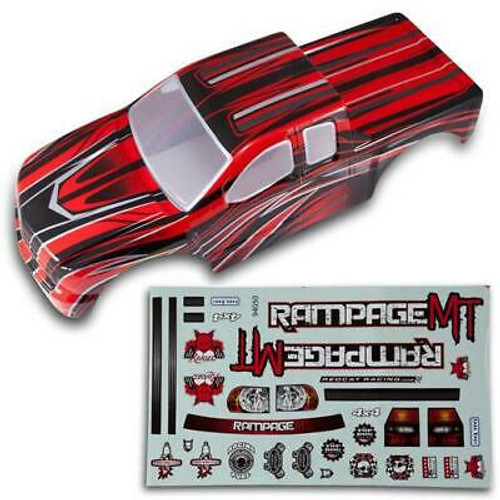 Redcat 1/5 Truck Body New Red Body 50912