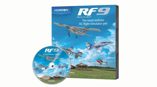 RealFlight 9 Flight Simulator Software Only