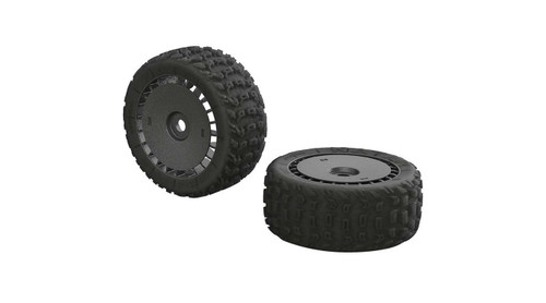 Arrma AR550048 KATAR T 6S Tire/Wheel Set Talion (2)