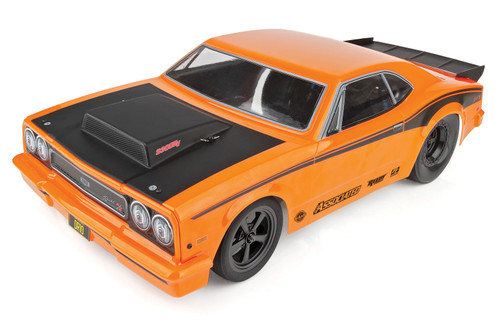 Team Associated 1/10 DR10 Drag Race Car, Brushless 2WD RTR, w/ LiPo Battery & Charger, Orange