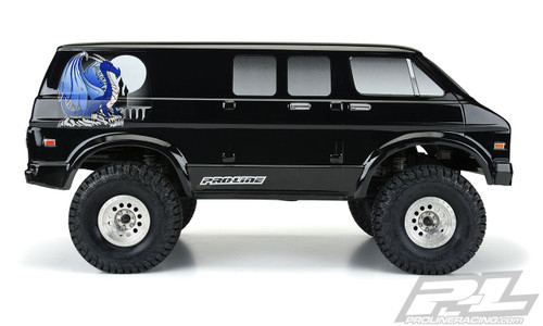 Pro-Line '70s Rock Van Tough-Color (Black) Body