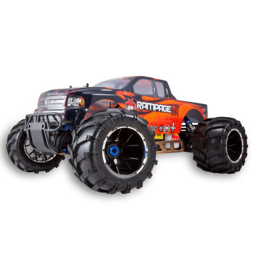 Rampage Mt V3 1/5 Scale Gas Monster Truck (Orange)