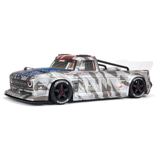Arrma 1/7 INFRACTION 6S BLX All-Road Truck RTR Silver