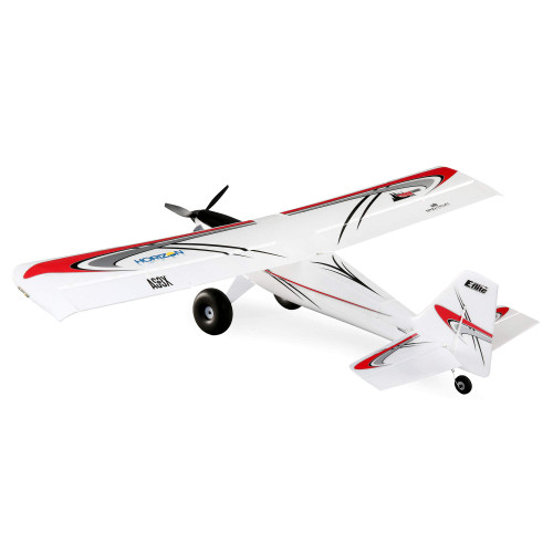 E-flite UMX Turbo Timber BNF Basic, 700mm, EFLU6950, White/Red/Gray