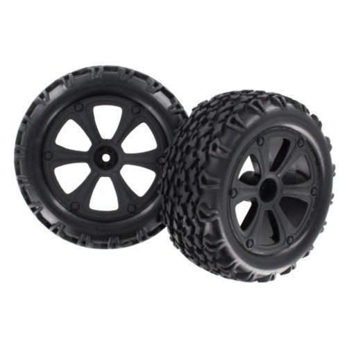RedCat Racing Blackout Wheels and Tires BS214-009