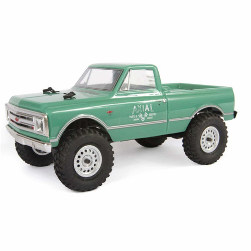 Axial Clear Body, 1967 Chevy C10 Body Precut: SCX24, AXI200001