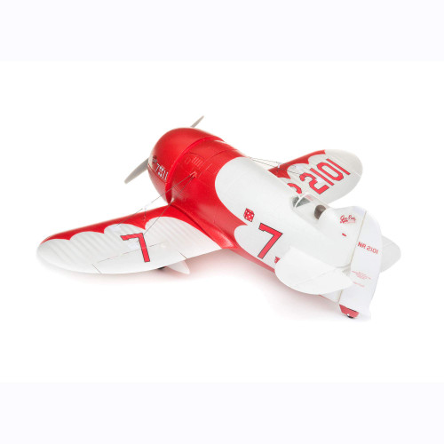 E-flite RC Airplane UMX Gee Bee R-2 BNF Basic (Transmitter, Battery and Charger not Included) with AS3X and Safe Select, EFLU6150